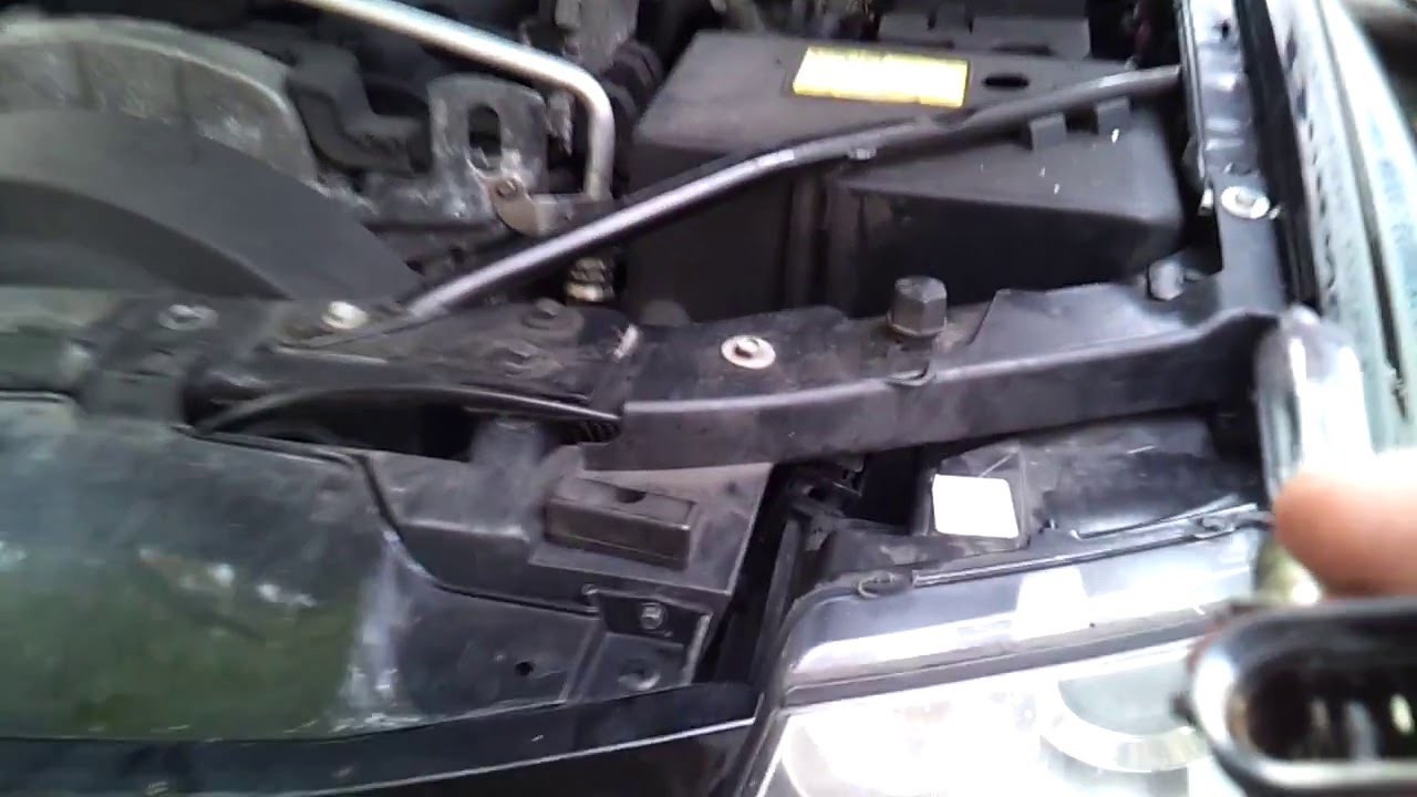 maxresdefault 2005 saab 9 7x burned headlight wiring harness fix youtube saab 9-5 trailer wiring harness at soozxer.org