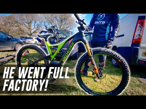 74342993d75 He went FOX FACTORY on his NEW 2019 Specialized Levo! - YouTube