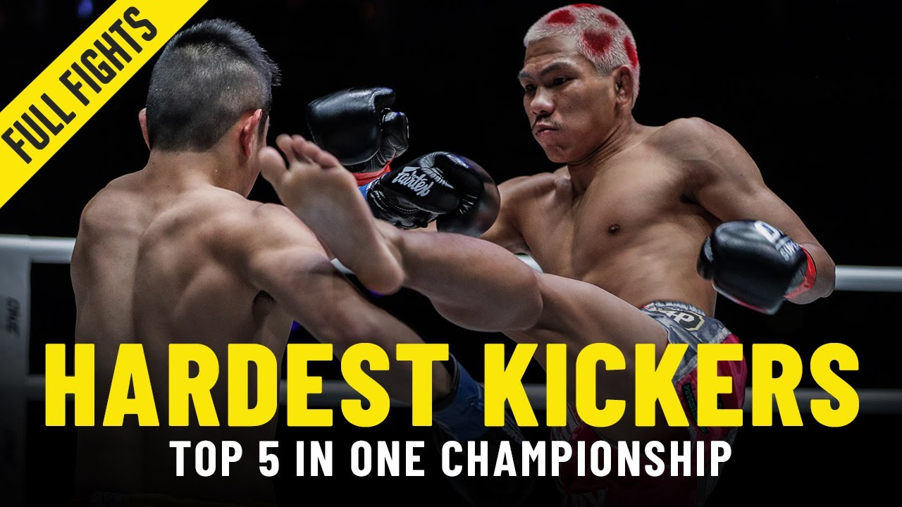 Top 5 Hardest Kickers In ONE Championship | ONE Full Fights
