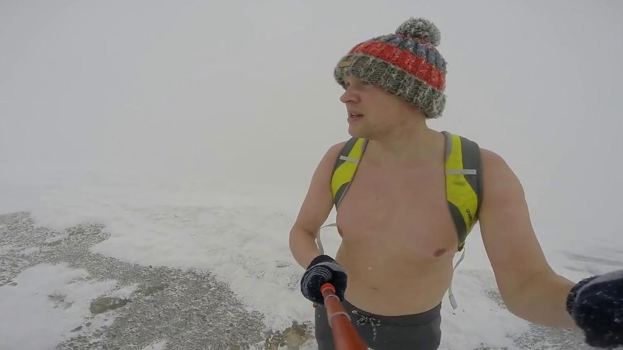 Slovakia Cold training 0 degrees Celsius Mala Fatra 2016 October