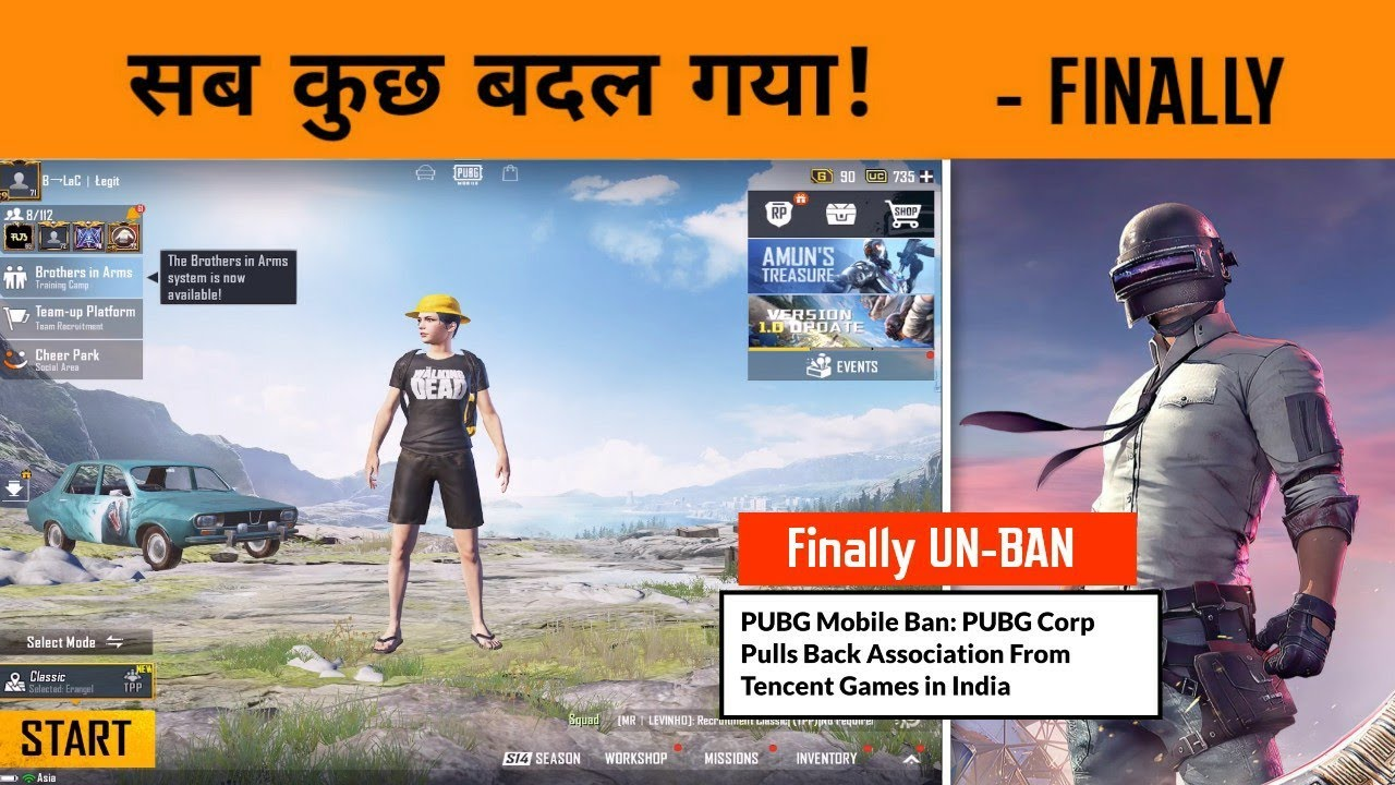 ?? Pubg BAN over in INDIA - Erangle 2.0 Gameplay & New Update of Pubg Mobile - GameXpro