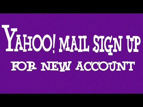 Yahoo Mail Sign Up New Account - 2016 | YMail Sign Up