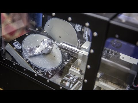 Pocket NC 5-Axis Desktop CNC Mill!