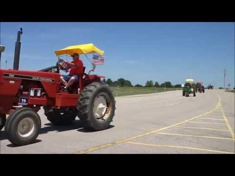 2016 WHO Radio Tractor Ride Day 1 (Iowa Speedway)