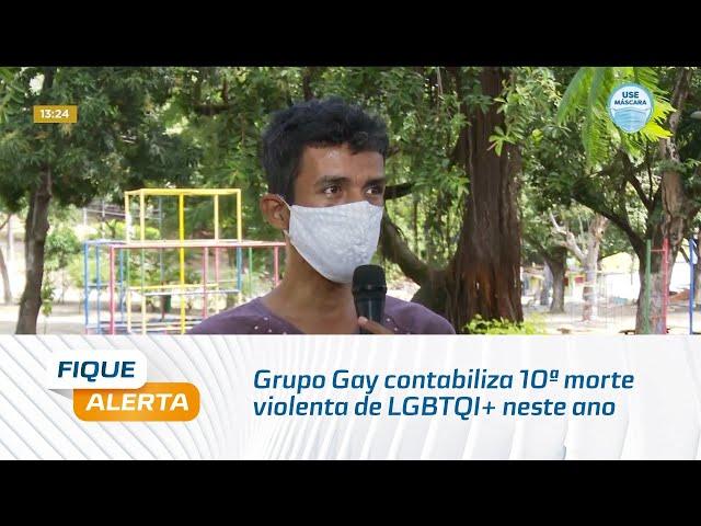 Grupo Gay contabiliza 10ª morte violenta de LGBTQI+ neste ano, em Alagoas