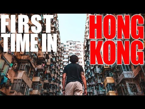 FIRST TIME IN HONG KONG // Incredible Fire Dragon Dance