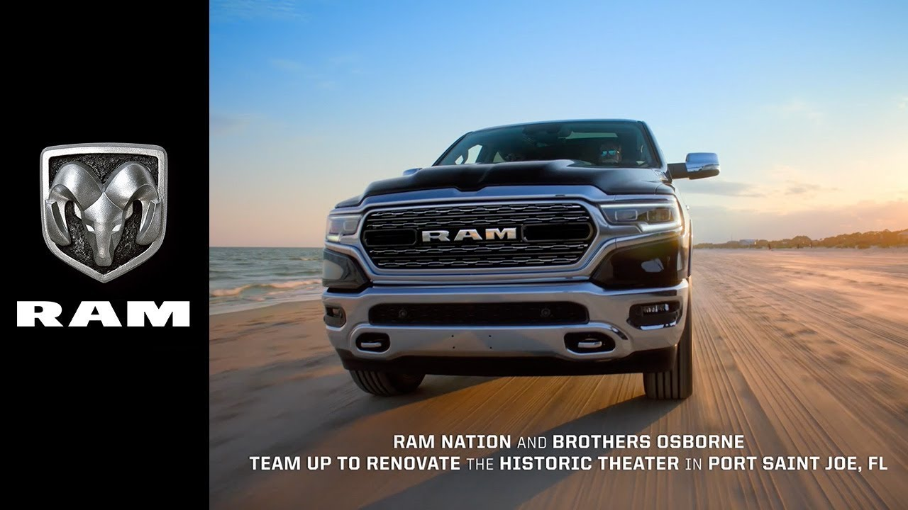 Bein Tv Grille Dodge Ram Launches New Musical Tv Ad Adstasher