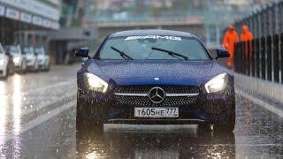 Тест-драйв Mercedes-AMG GT S и других AMG + Виталий Петров или что такое AMG Performance Tour