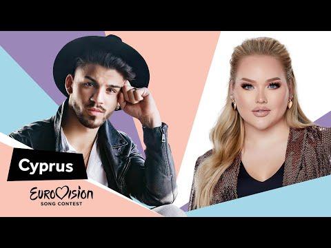 Eurovisioncalls Sandro - Cyprus 🇨🇾 with NikkieTutorials