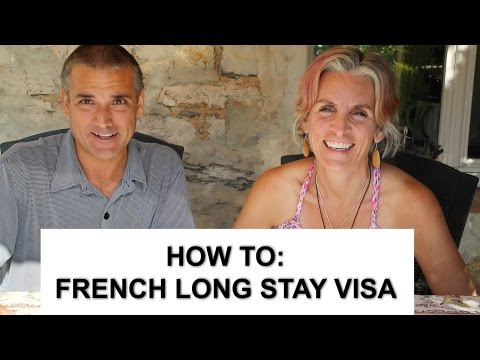 FRENCH LONG STAY VISA - HOW TO APPLY - France 1 Year Visa