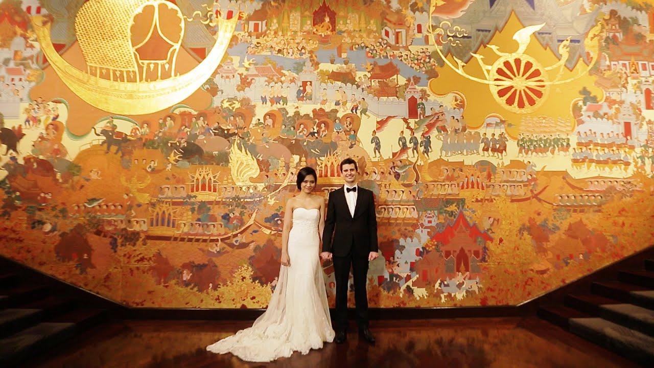 Wedding Reception Daniel Amp Bo At Anantara Siam Bangkok