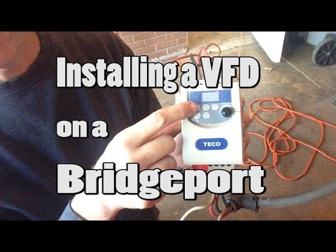 How to Install a VFD on a Bridgeport Mill