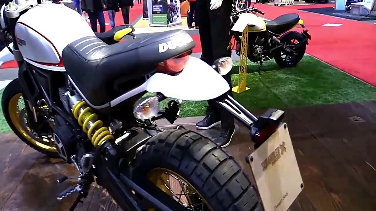 2019 Ducati Scrambler Desert Sled Toronto Complete Accs Series