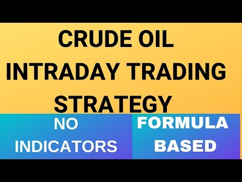 Crude Oil Intraday Trading Strategy Without Indicator