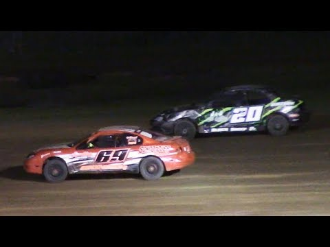 Kids Class Mini Stock Feature | McKean County Family Raceway | 6-16-18