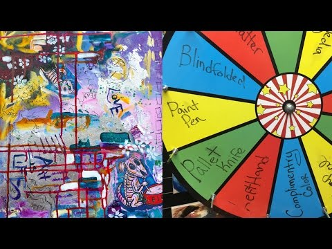 Wheel of WONDER Viewer pick Abstract LIVE event