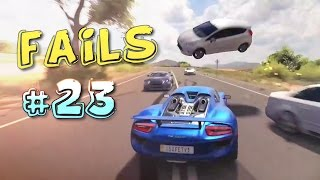Racing Games FAILS Compilation #23