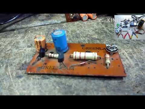 Circuit For Autocut Voltage Stabilizer