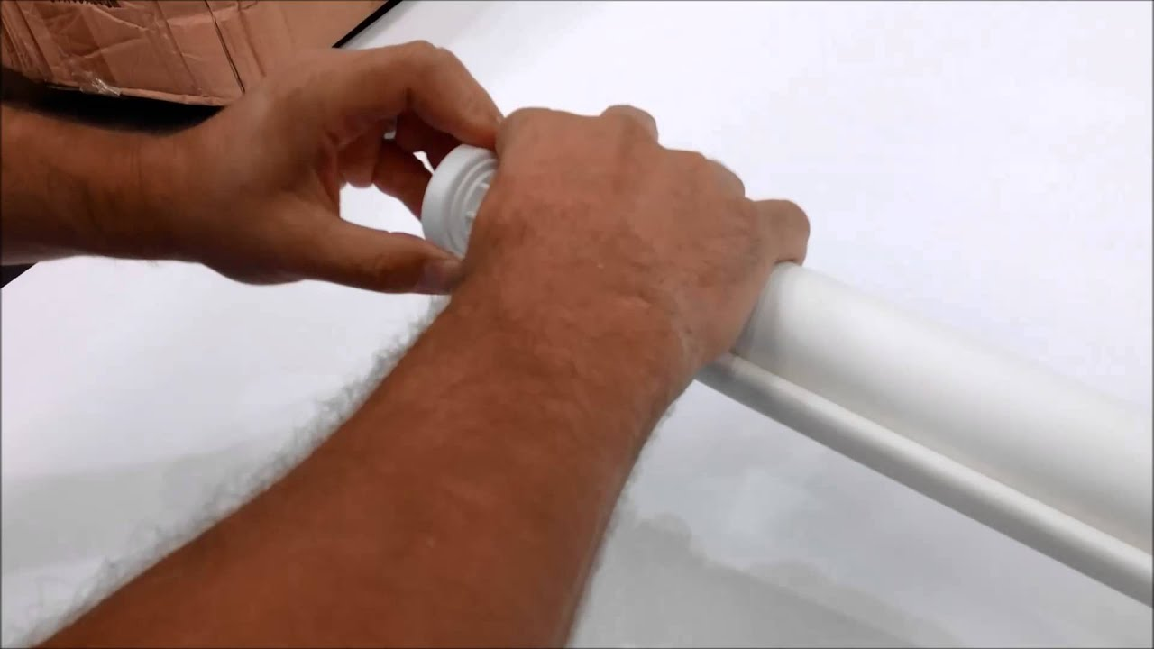How to fix springs in roller shades and adjust spring tension - Roller Blind Spring Replacment