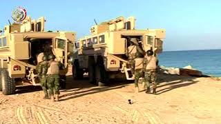 المتحدث العسكري ينشر لقطات مقتل 30 تكفيريًا وتدمير 74 عبوة ناسفة في سيناء