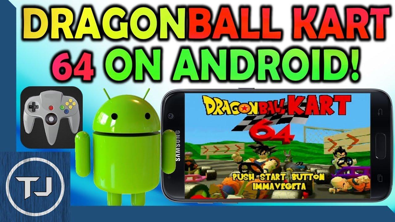 How To Play Dragon Ball Kart 64 On Android! (Mario Kart 64 MOD) - YouTube