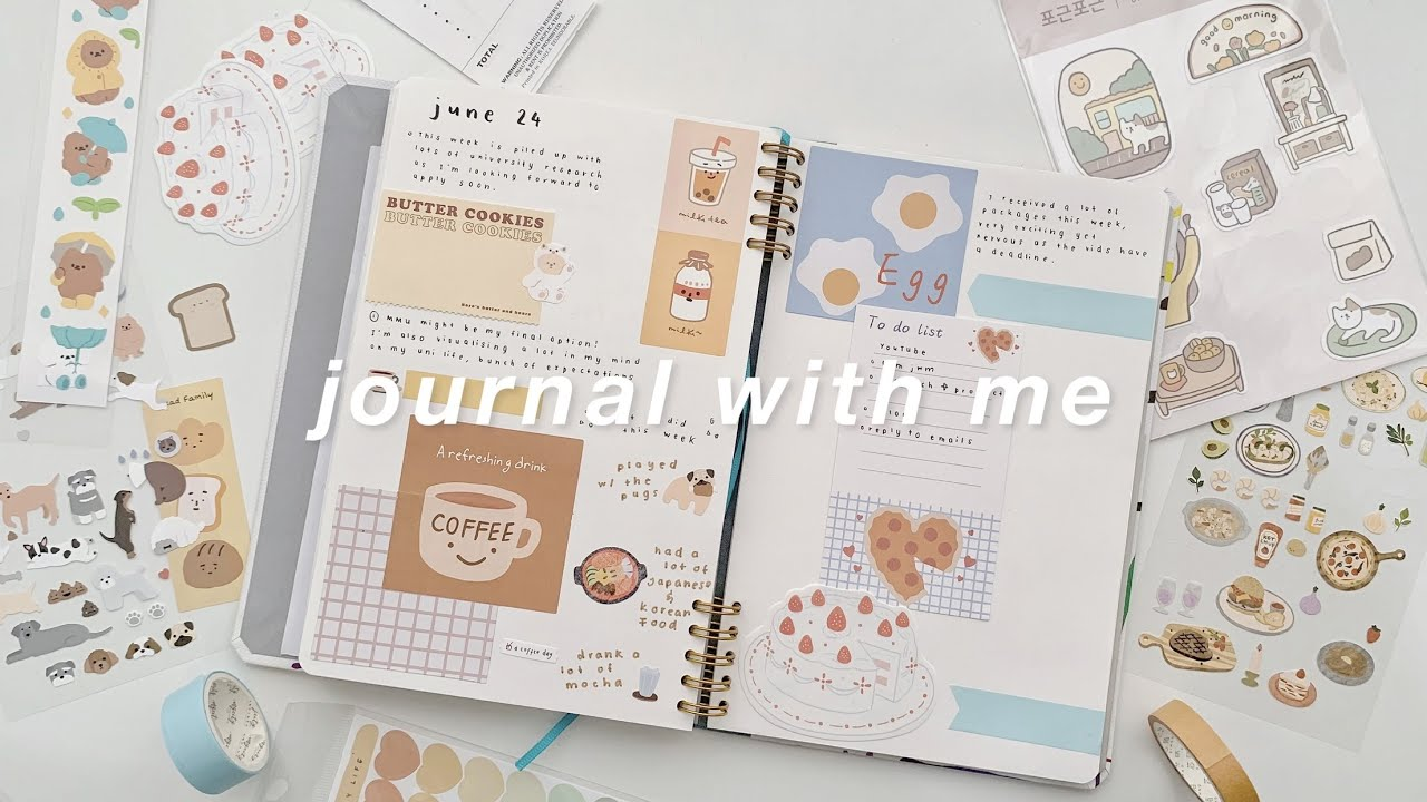 journal with me ft. phomemo
