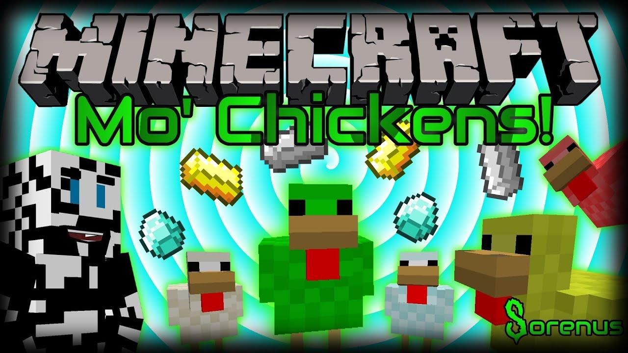 minecraft chickens mod breeding tree