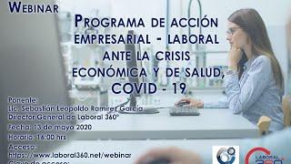 Programa de acción empresarial - laboral ante la crisis económica y de salud COVID - 19