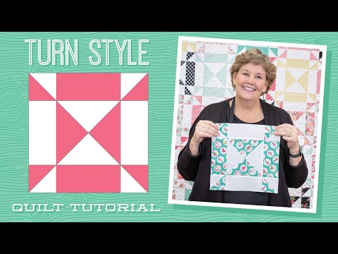 """Make a """"Turn Style"""" Quilt with Jenny Doan of Missouri Star (Video Tutorial)"""
