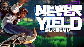 Aerial Knight's Never Yield review | Stylistic runner (Video Game Video Review)