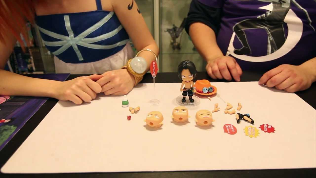 Com Review - Bandai Ace Chibi Arts Figure - One Piece - YouTube