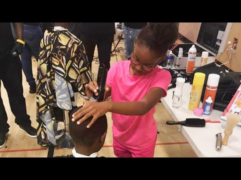 Girl, 8, Trained as a Barber Offers Free Haircuts to Her Pennsylvania Community