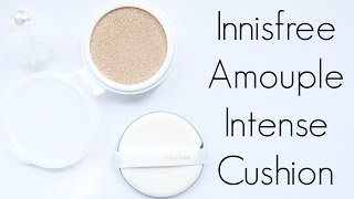 review innisfree ampoule intense cushion in shade 13