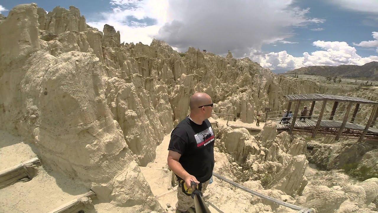Valle de la Luna - La Paz Bolivia - YouTube