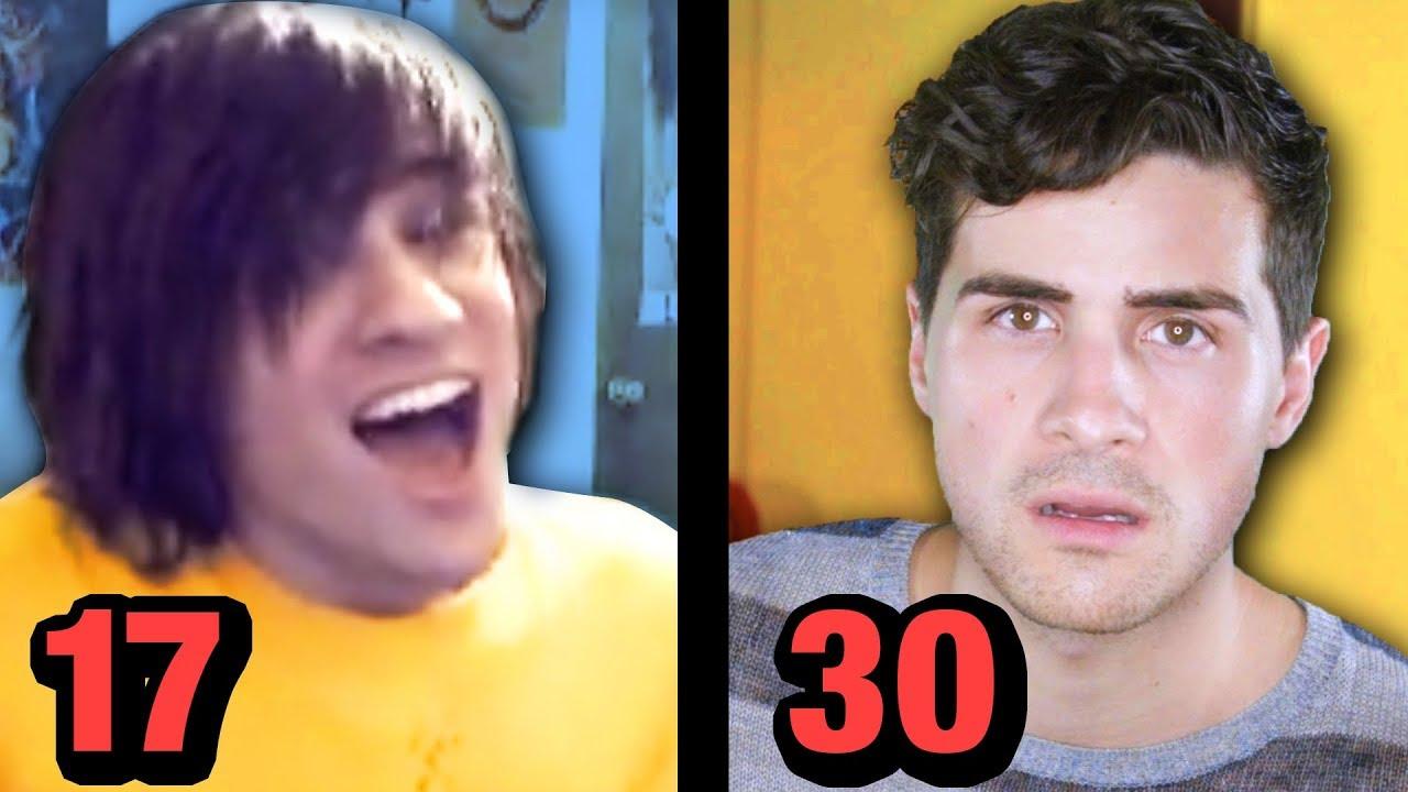 17 vs 30 years old (on youtube) - YouTube