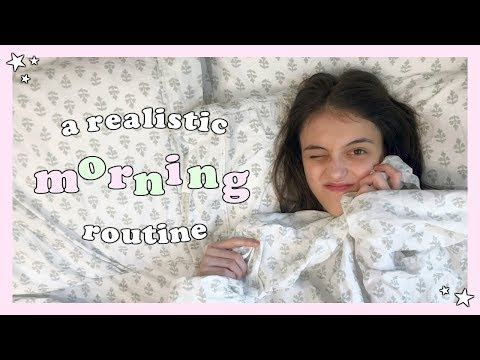 A Realistic Morning Routine - Summer Edition :)
