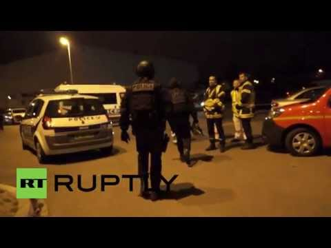 France: Police raid building in search for Salah Abdeslam