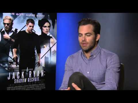 Chris Pine Interview - Jack Ryan: Shadow Recruit