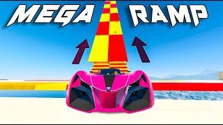 LA MEJOR MEGA RAMPA DEL MUNDO !!! GTA V ONLINE - GTA 5 ONLINE