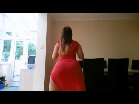 Hot babe in Red Dress Shaking her beautifull ASS!!!! Must watch & Subscribe!!!! thumbnail