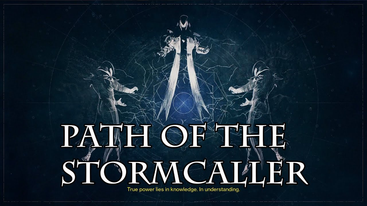 Path of the stormcaller how to acquire the new warlock subclass youtube - Warlock stormcaller ...