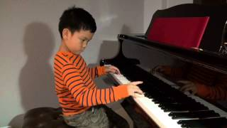 Ballade pour Adeline played by 8 year old. Enjoy