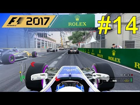 F1 2017 - Giovinazzi Career Mode #14: Monaco Grand Prix - 50% Race