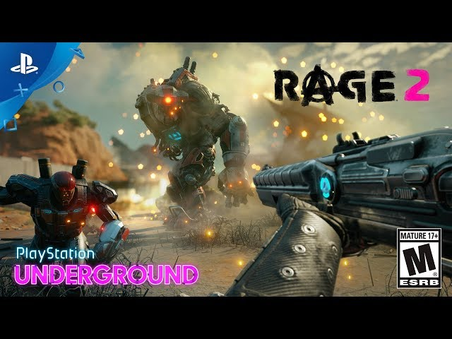 Rage 2 - Gameplay Walkthrough | PlayStation Underground