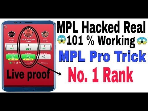 MPL Game Hack Unlimited Score Without Root   MPL Game All Hack No Root
