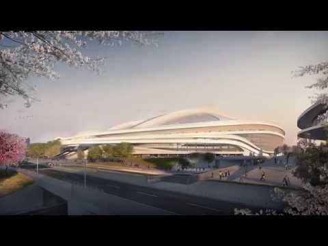 Zaha explains Tokyo Stadium Design