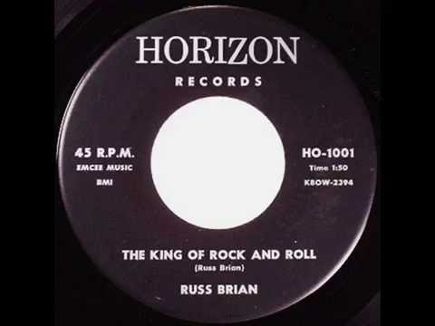 Russ Brian - The King Of Rock And Roll / Hillbilly Rock (1959)