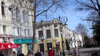 Прогулка после ремонта по центру Симферополя