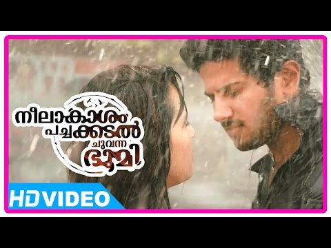 Neelakasham Pachakadal Chuvanna Bhoomi Movie | Scenes | Dulquer's Flashback Revealed | Surja Bala
