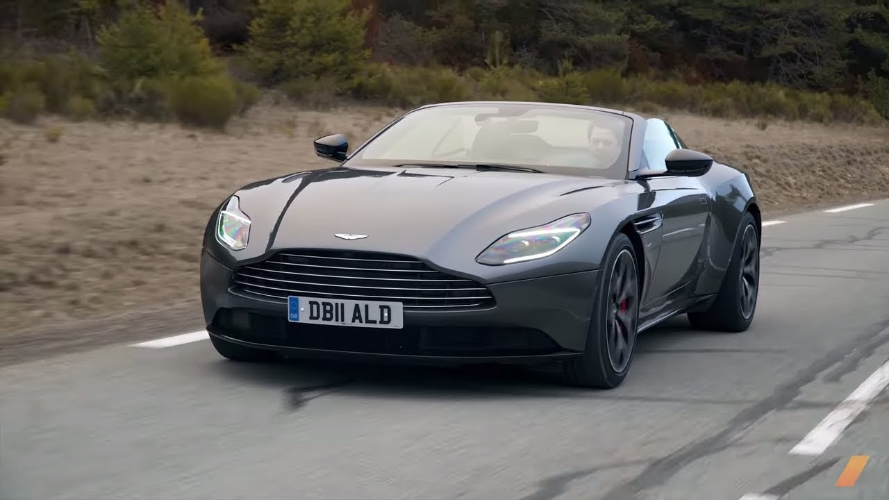 Aston Martin Db11 Volante The Best Convertible Gt Test Drive